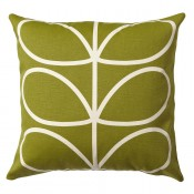 Orla Kiely 'Linear Stem' Cushion - Apple
